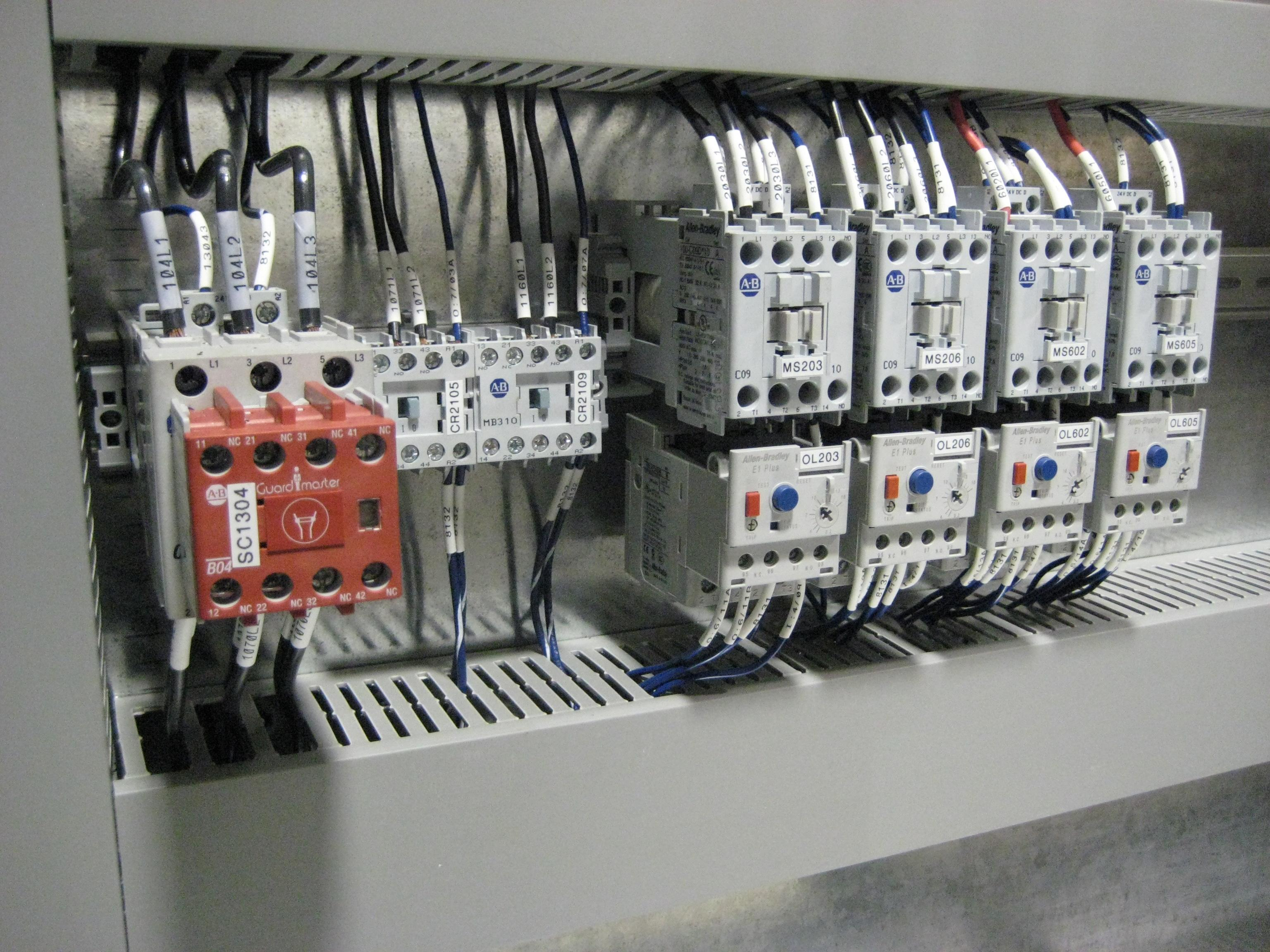 Control Panel Building RSTech Limited The Industrial